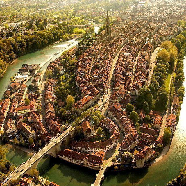 The Amazing City of Bern in Switzerland.