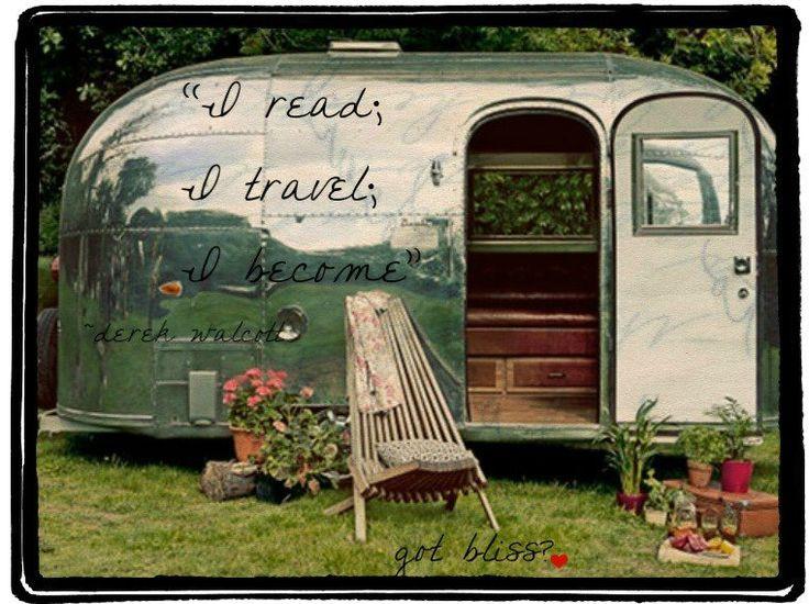I read, I travel..........