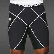 Nike Pro Cool 9 Inch Mens Compression Shorts (White) by directtennis