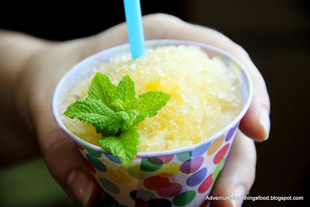 Snow cone syrup, Snow and Peaches on Pinterest