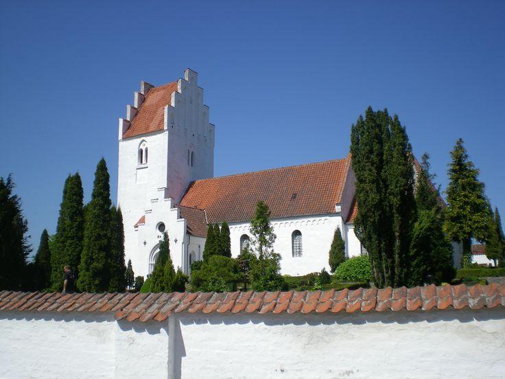 Allerslev Church, Allerslev kirke, Denmark. Photo: Kurt Thorleif Jensen.