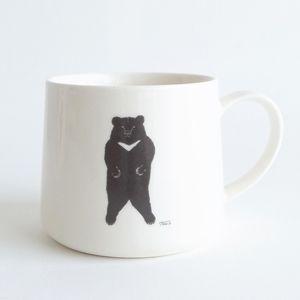 トモタケ - クマ マグカップ | CLASKA