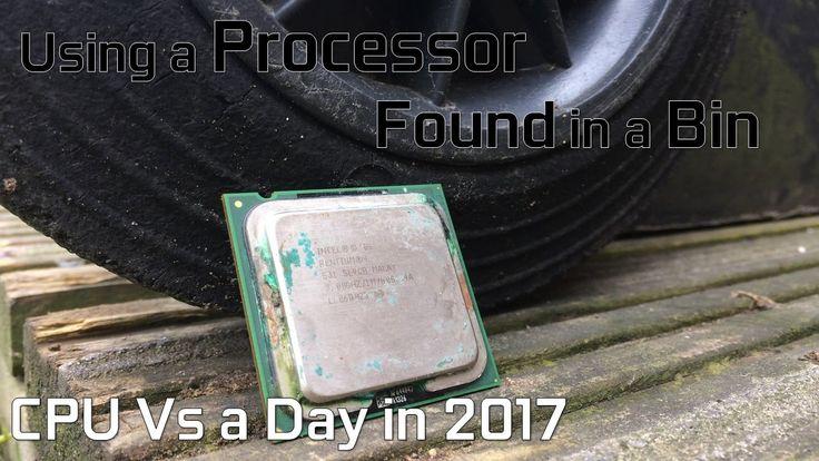 Using a CPU Found in a Bin! // A day with the Pentium 4 in 2017