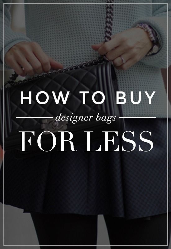 The Best Places to Get Designer Bags for Less