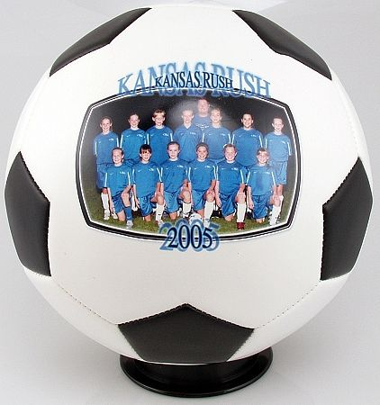 Personalized Full Sized Photo Soccer Ball - A great Gift for the Soccer Coach, Team, Player, Parents or Grandparents - Photo Soccer Ball