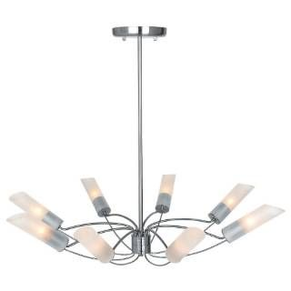Check out the Access Lighting 50509-BS-FST Solar 8 Light Chandelier in Brushed Steel