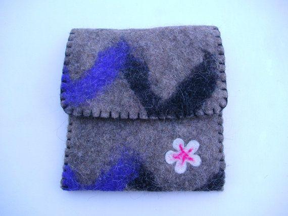Gray Boho Ipad mini case Multicolor Ipad mini by BrightHappyFelt