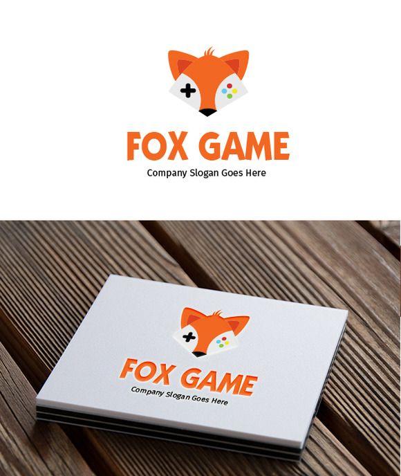 Fox Game Logo by goodigital13 on @creativemarket