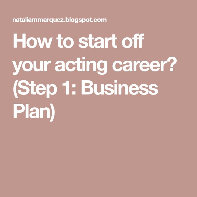 The 25+ best Acting career ideas on Pinterest Acting tips - actors resume