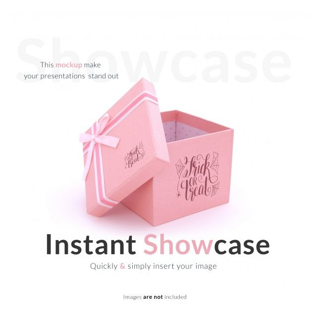Download Download Pink Gift Box Mock Up For Free Pink Gift Box Pink Gifts Gift Box Template
