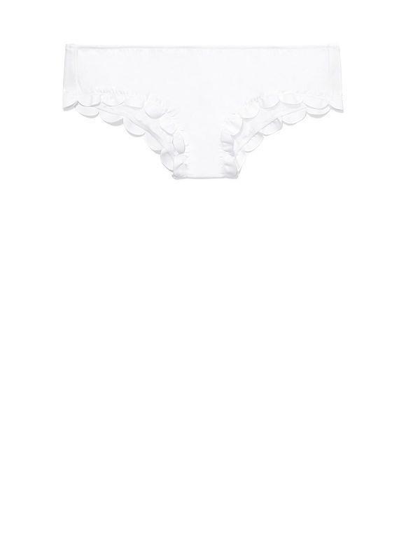 :: Scalloped Mini Bikini - triumph white ::