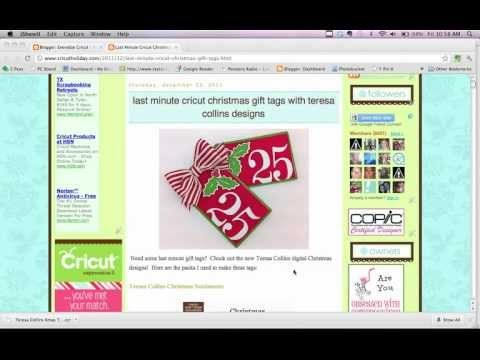 How to download files onto Cricut Craft Room