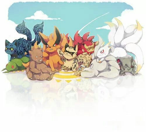 Tailed Beasts Wallpapers: Naruto Tailed Beasts