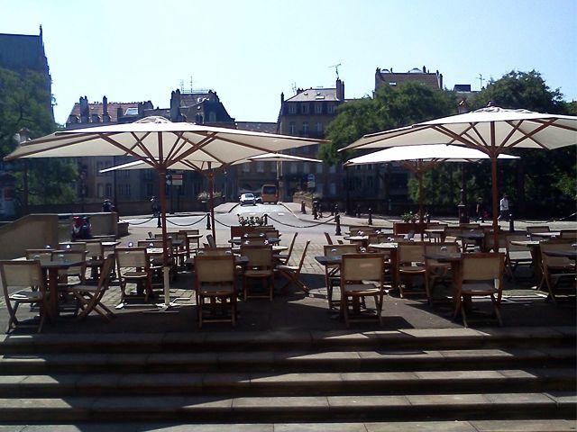 Restaurant terrasse Metz - El Theatris