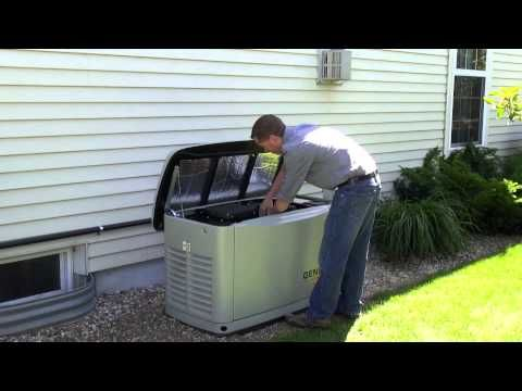 Introduction to the Generac 22 kW Guardian Series Automatic Home Backup Generator - YouTube