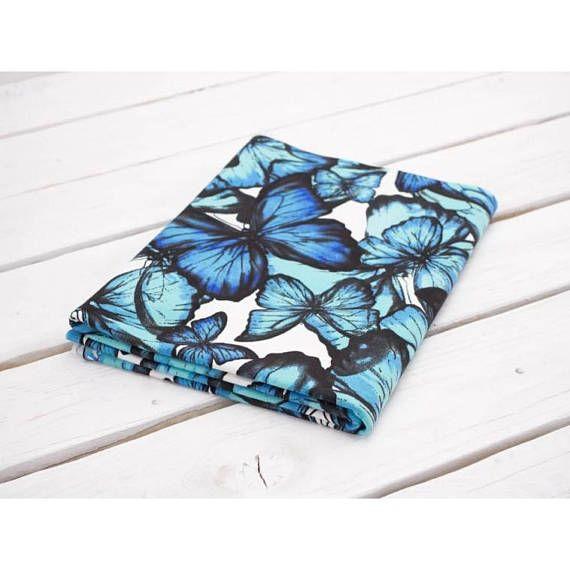 butterflies jersey fabric women jersey fabric knit fabric