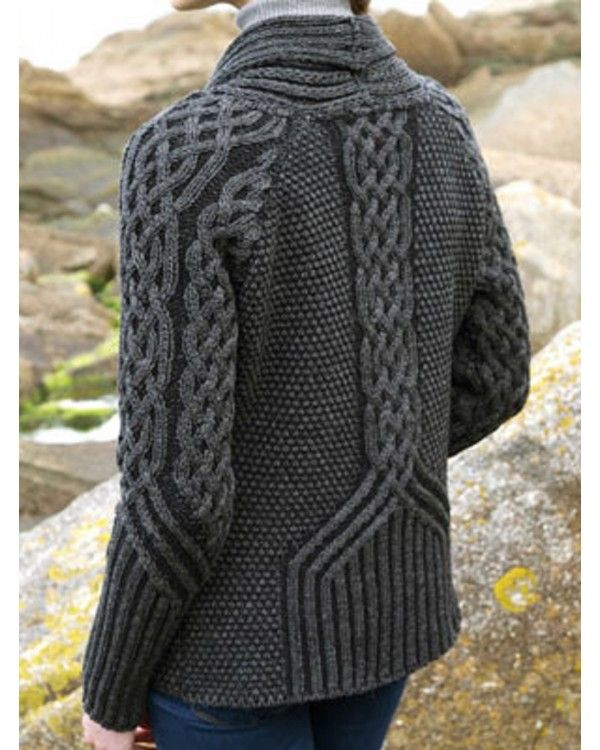 Knitting Irish Stitches : 194 best images about Traditional & Modern Aran/Irish Sweaters & Knit...