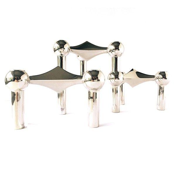 Nagel stager - lysestager designet af Fritz Nagel