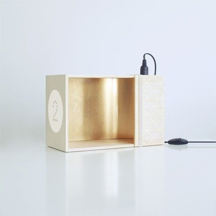Lux box is a minimalist design created by france based designer a a cooren the lux box is a light box created and produced especially for d
