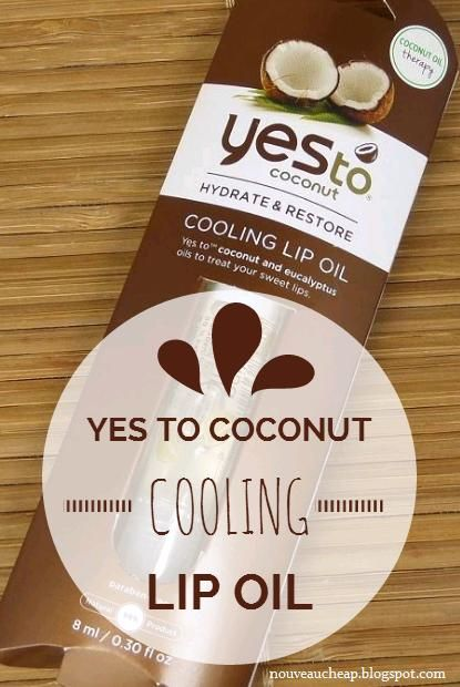 My full review of the new Yes to Coconut Cooling Lip Oil http://nouveaucheap.blogspot.com/2014/09/review-yes-to-coconut-cooling-lip-oil.html