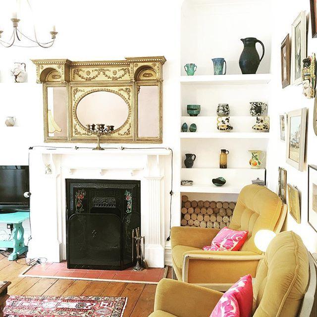 Helen wells artist home #colour #decor #art #artist #boho home