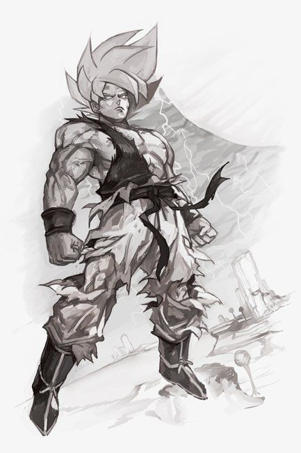 embedded illustrations character design pinterest goku dragon ball and dragons