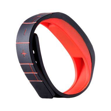 GOQii. Band to measure activity and sleep, app for tracking, coach for goal reinforcement, karma points to donate to causes.