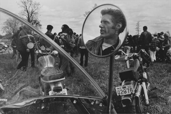 """The Bikeriders"" by Danny Lyons. A series of images that chronicles the Chicago Outlaws Motorcycle Club which he was a member of."