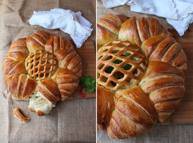 Angellove's Cooking: Вита пита с розетка / Rosette Round Loaf Bread