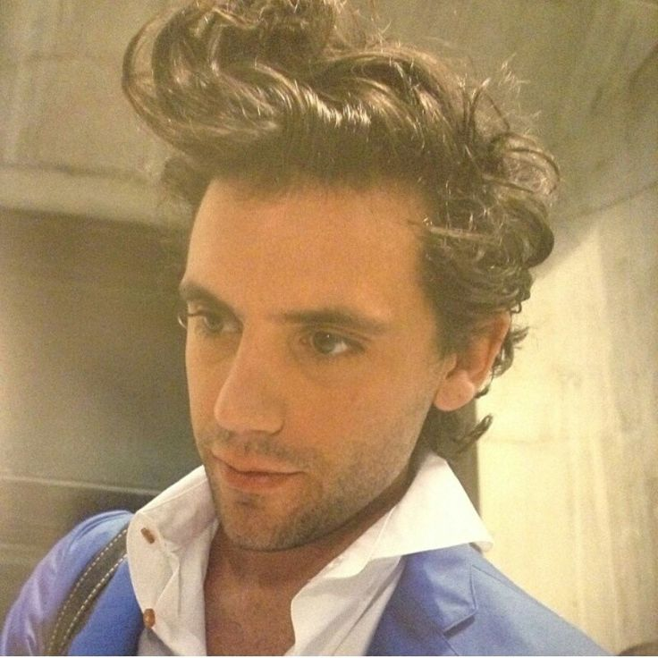 Mika's hair! Leaving BBC Radio 1 in London, UK July 20, 2009