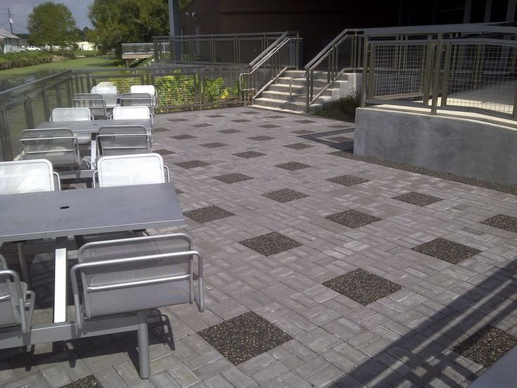 xeripave a pervious paver used with permeable pavers photo courtesy of xeripave super - Permeable Patio Ideas