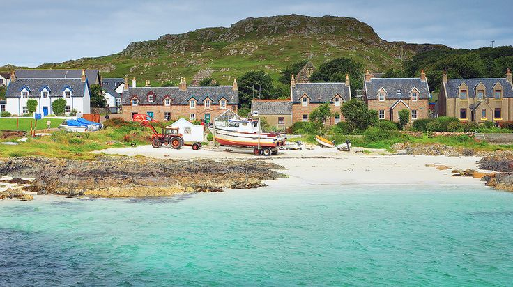 View of Baile Mor - Isle of Iona,Scotland http://www.isle-of-iona.net/