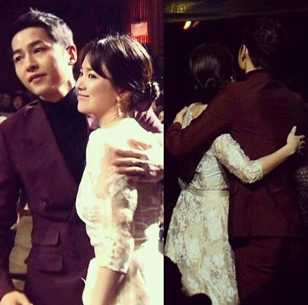 Song Hye Kyo And Joong Ki DAESANG Grand Award Winner At The 2016 Kbs Drama Awards