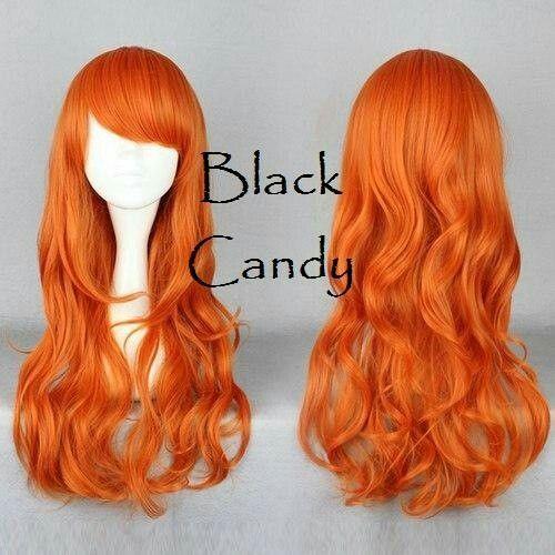 Pumpkin - Black Candy Fashion Wig - £21