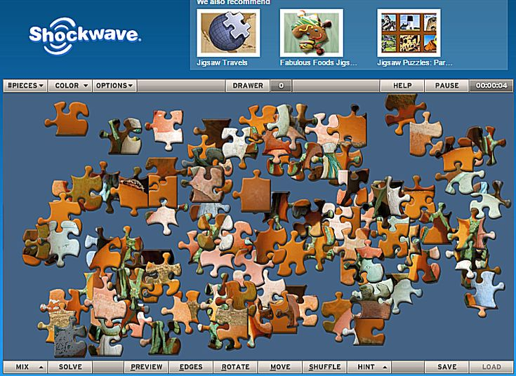 Play Jigsaw Puzzles Online for Free at These Sites: Shockwave's Free Jigsaw Puzzles