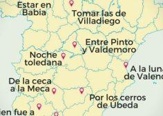 El origen de nueve dichos y expresiones que mencionan lugares españoles (MAPA INTERACTIVO)