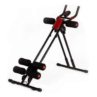 ลดราคา Spint Ab Cruncher เครื่องออกกำลังกาย 5 Mins Shaper สร้าง Sixpack ลดหน้าท้อง Black ส่งฟรี