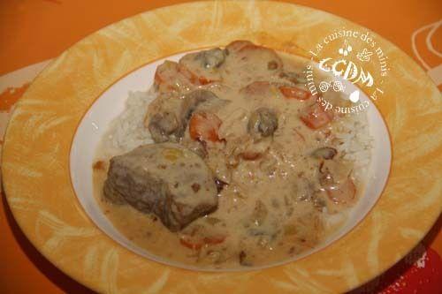 Blanquette de veau - Cookéo