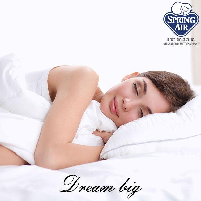 Dream While Sleeping On Spring Air Mattresses Springairhiness Sleep