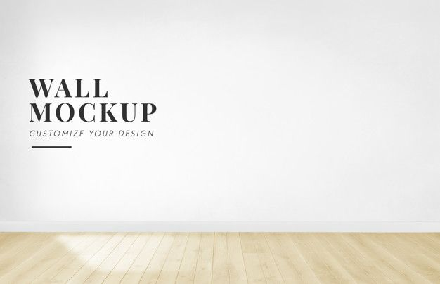 Download Empty Room With A White Wall Mockup For Free White Walls Empty Room Office Wall Decals