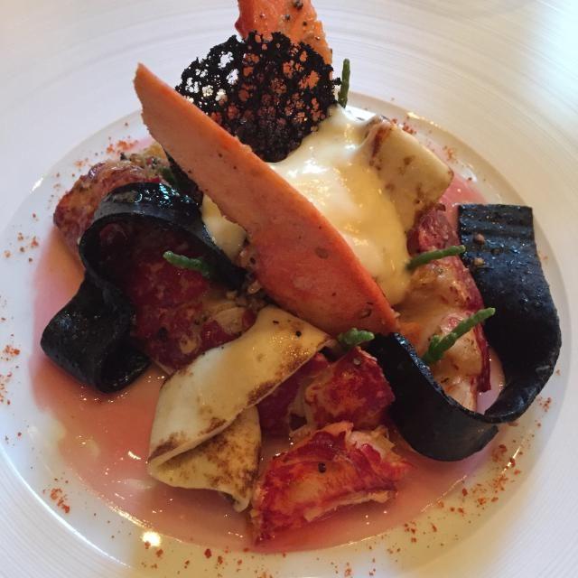 Michelin Star Dining Event: Le Cinq Paris: Lobster Main