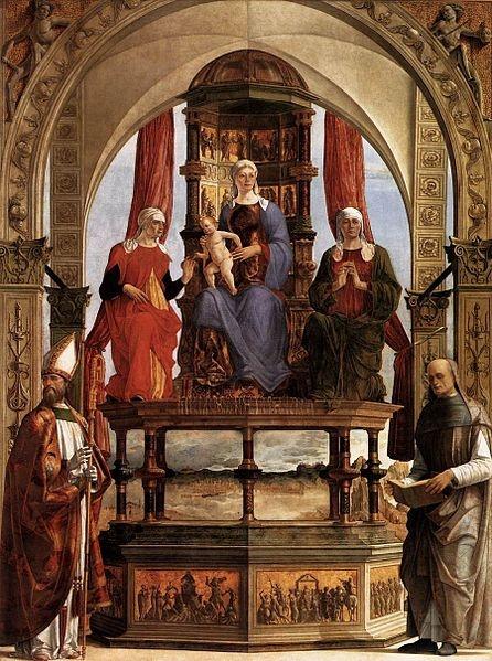 Pala d santa maria in porto, ercole de' roberti