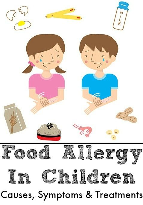 Food Allergy In Children – Causes, Symptoms And Treatments