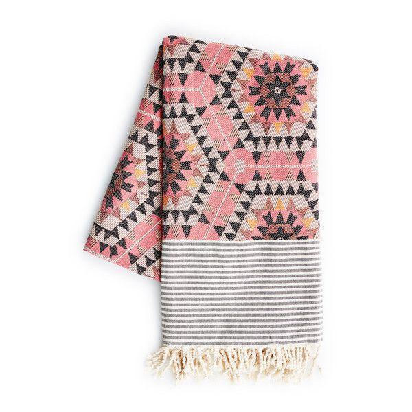 House of Rym Heavenly Honeycomb Scandinavian Throw - Geometric Blanket | The Future Kept