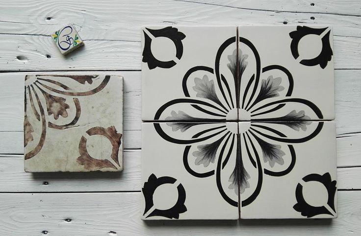 Maioliche dipinta a Mano COMED Ceramiche #maiolica #majolica #tiles #ceramics #art #handmade #madeitaly #restauro #repair #renovation