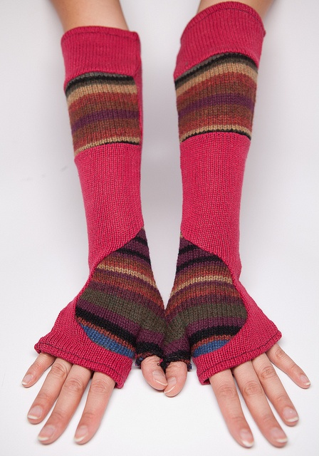 Upcycled Sweater Arm Warmer, Handmade by Nostalgia Jewelry, via Flickr