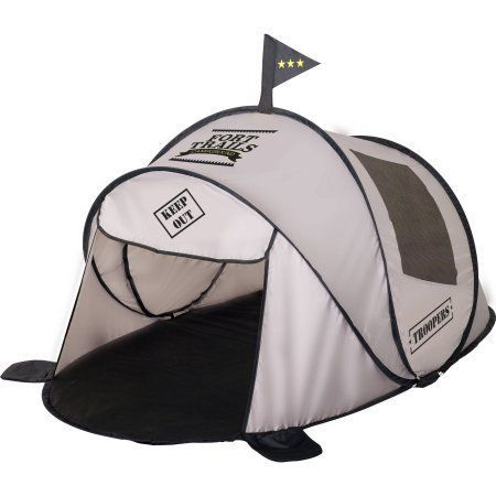 Kids' Pop-Up Fort Tent | Made of polyester taffeta and polyester mesh - $34.99