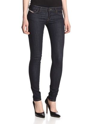 41% OFF Diesel Women's Skinny Jean (Dark Blue/Copy Wash)