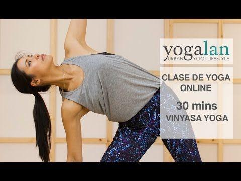 30 mins de clase de yoga dinamico con Xuan-Lan