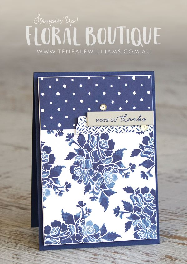115 best dsp floral boutique images on pinterest boutique by teneale williams stampin up australia floral boutique designer series paper m4hsunfo Gallery